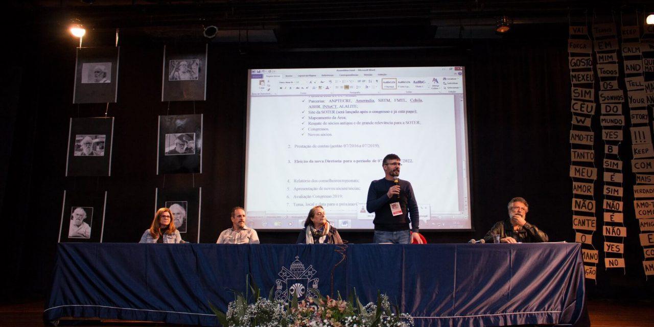 Professores de Teologia da PUC-Rio são reeleitos para a diretoria da SOTER
