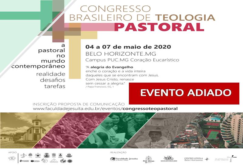 Congresso Brasileiro de Teologia Pastoral – Evento adiado