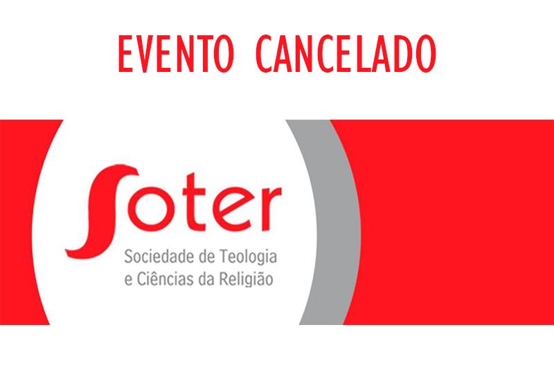Congresso Internacional da SOTER cancelado