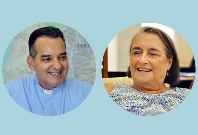 Padre Waldecir Gonzaga e a professora Maria Clara Bingemer integram a Equipe de Análise de Conjuntura Eclesial da CNBB