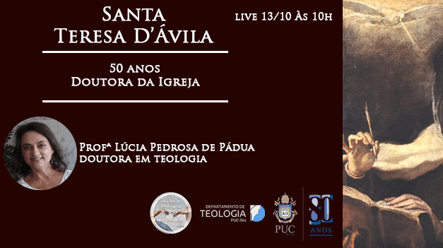 Santa Teresa D'Ávila: 50 anos Doutora da Igreja