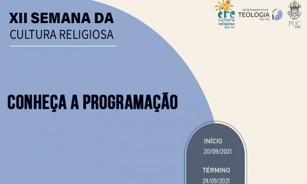 Confira a programação da XII Semana da Cultura Religiosa PUC-Rio