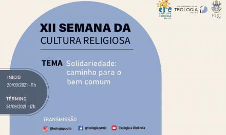 XII Semana da Cultura Religiosa da PUC-Rio – 2021